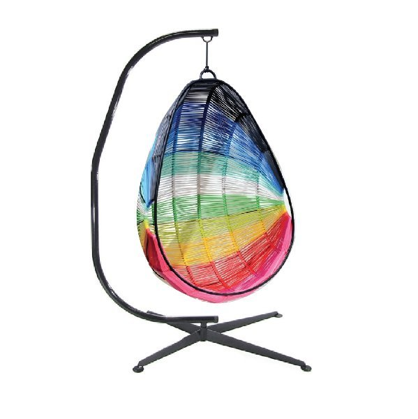 Hanging PVC Cord Multi-Colored Chair rental New Orleans, LA
