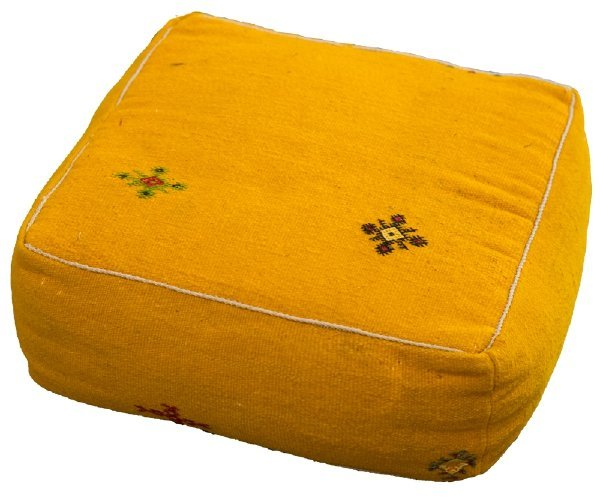Yellow Floor Cushion rental New Orleans, LA