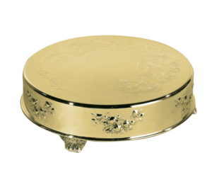 Round Gold Cake Stand rental New Orleans, LA