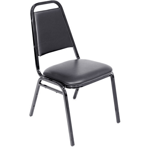 Conference Chair - Black Padded rental New Orleans, LA