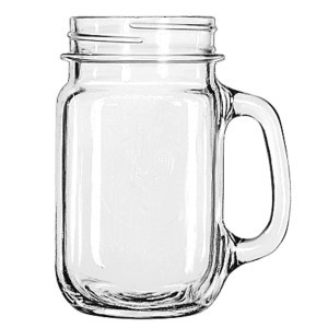 16 Oz. Mason Jar Handled  rental New Orleans, LA