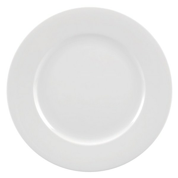 White China Salad and Dessert Plate rental New Orleans, LA