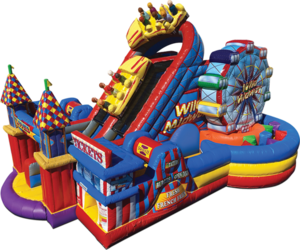 Obstacle Course - Amusement Park Theme rental New Orleans, LA
