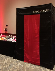 Enclosed Photo Booth rental New Orleans, LA