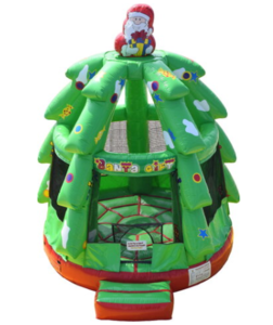 Christmas Tree Bounce House rental New Orleans, LA