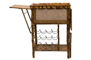 Wood Bar Cart rental Nashville, TN