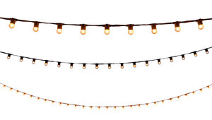 String Lights - 50' White rental Nashville, TN
