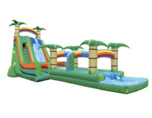 27' Water Slide with Slip N Slide rental Nashville, TN