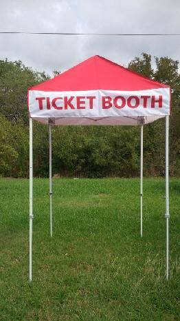 Ticket Booth rental Nashville, TN