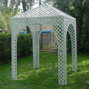 Lattice Gazebo / Chuppah rental Nashville, TN