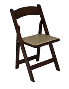 Fruitwood Folding Chair rental Nashville, TN