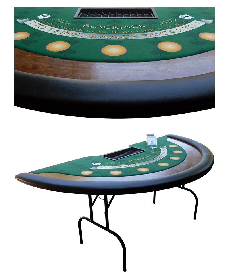 7ft Blackjack Table Rental Austin Tx