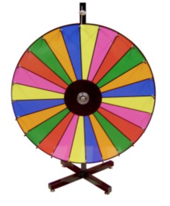 Prize Wheel rental Austin, TX