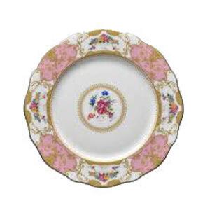 Floral Vintage Pink Dinner Plate rental Nashville, TN