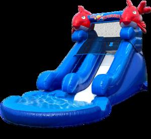 5.5' Dry or Water Slide - Little Kahuna rental Nashville, TN