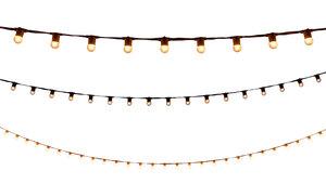 String Lights - 100' White rental Nashville, TN