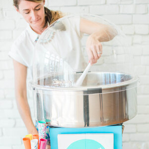 Cotton Candy Machine with Professional Spinner rental Nashville, TN
