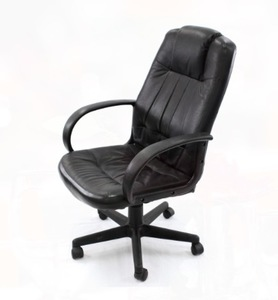 Executive Black Leather Chair rental Austin, TX