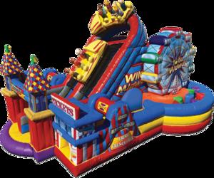 Obstacle Course - Amusement Park Theme rental Austin, TX