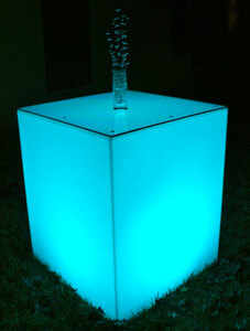 Glo Large Square Cocktail Tables rental Austin, TX