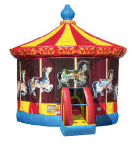 Carousel Bouncy House rental Austin, TX
