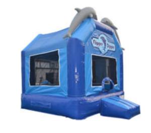 Flipper Dipper Bouncy House rental Austin, TX
