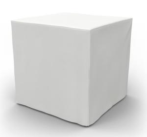 Small White Ottoman Cube rental Austin, TX