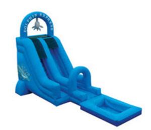 18' Dry or Water Slide rental Austin, TX