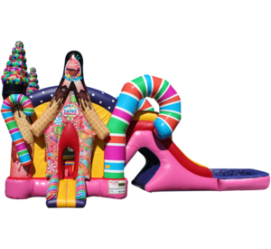 Combo Dry or Water Slide rental Austin, TX