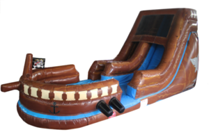 15' Water Slide - Pirate rental Austin, TX