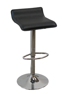 Adjustable Leather Barstool rental Austin, TX