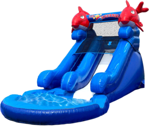 5.5' Dry or Water Slide - Little Kahuna rental Austin, TX