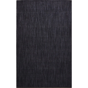 5x8.5 Twilight Ribbed Rug rental Austin, TX