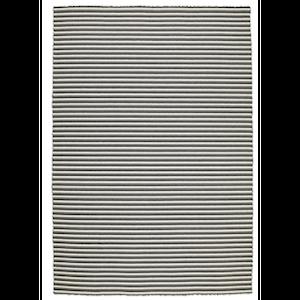 6x9 Grey Stripe Flatwoven rental Austin, TX
