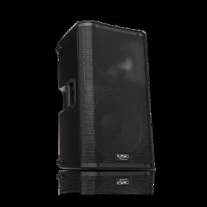 """QSC K12 12"""" Powered Speaker rental Austin, TX"""