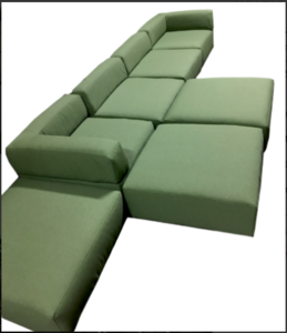 Modular Sofa rental Austin, TX