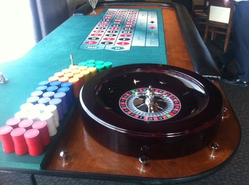 Roulette Table rental Austin, TX