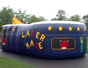 Inflatable Lazer Tag Arena  rental Austin, TX