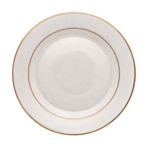 Gold or Silver Rimmed China rental Austin, TX
