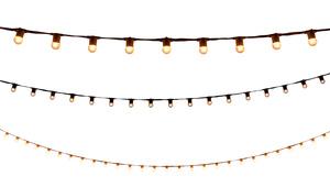 String Lights - 50' White rental Austin, TX