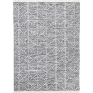 5x8 Grey Diamond Rug rental Austin, TX