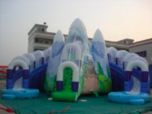 Snow Mountain Inflatable Slide rental Austin, TX