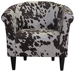 Cowhide Barrel Chair rental Austin, TX