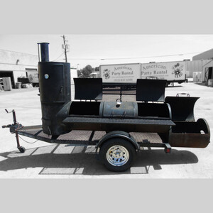 Large Smoker with Trailer rental Austin, TX
