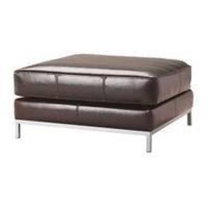 Leather Ottoman rental Austin, TX
