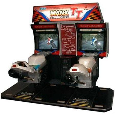 Superbikes Arcade Game rental Austin, TX