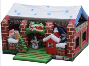 Christmas Wonderland Bounce House rental Austin, TX