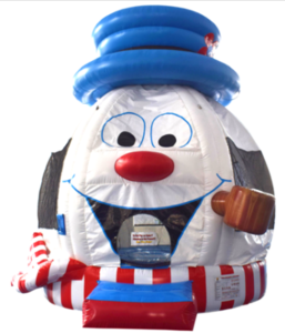 Snowman Bounce House rental Austin, TX