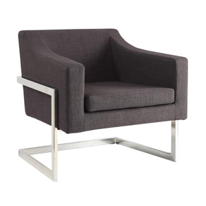 Modern Gray Chair rental Austin, TX