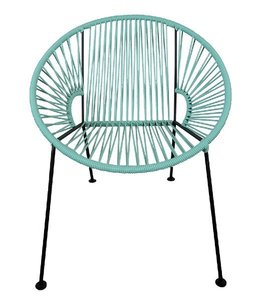Mint PVC Cord Chair rental Austin, TX